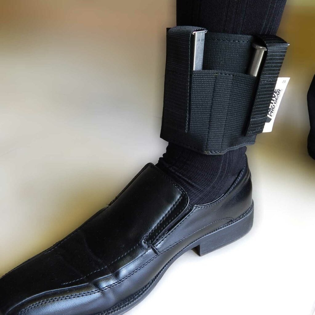 Active Pro Gear's basic ankle magazine carrier.