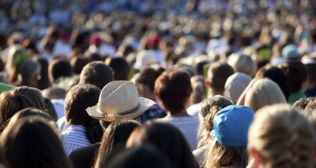 Soft Eyes means having a wide-open peripheral awareness while still focusing on a central point, like when in a crowd at an event.
