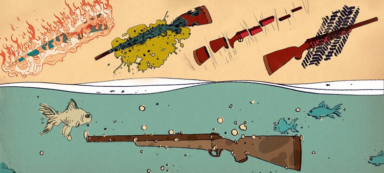 how to wreck your rifle