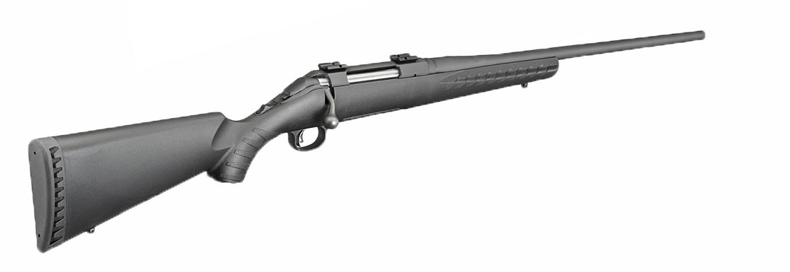 The Ruger American rifle.