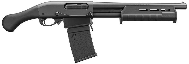 The Remington TAC-14 shorty non-NFA shotgun is available in the 870DM configuration, but there has been no such release for the Mossberg 590Shockwave...yet.