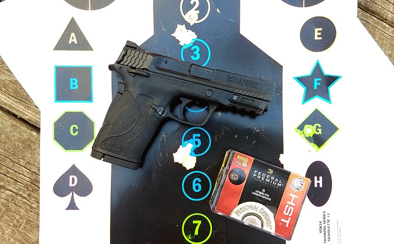 smith wesson M&P 380 shield target