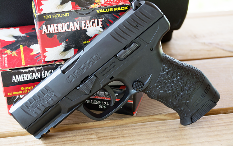The Walther Creed looks like the PPQ model but carries a more affordable price tag.