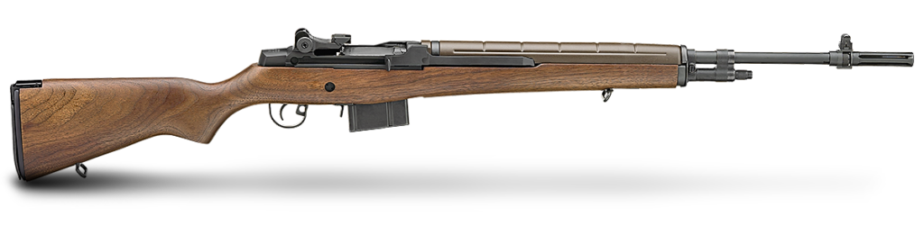 The Loaded M1A rifle from Springfield Armory was chosen as the base for the M21 build.