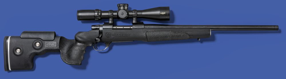 The Weatherby Vanguard Adaptive Composite (VAC) rifle **scored 90 points** • MSRP: $1,269