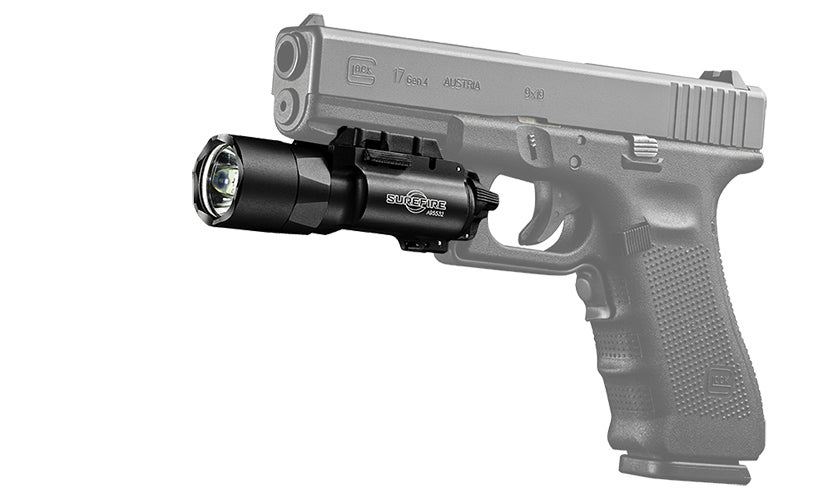 The Surefire X300U-A is issued to many Law Enforcement Offiers and military units.