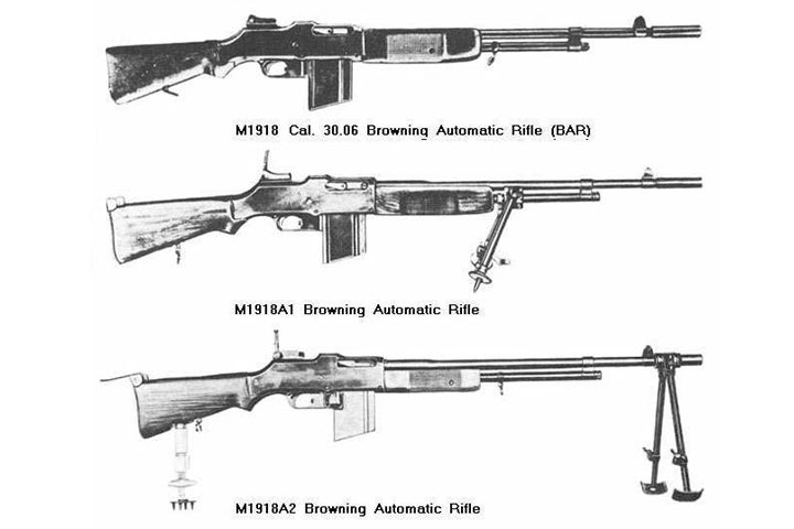 Variants of the M1918.