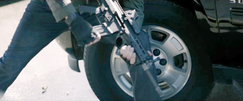 A bad guy with an FN SCAR-L.