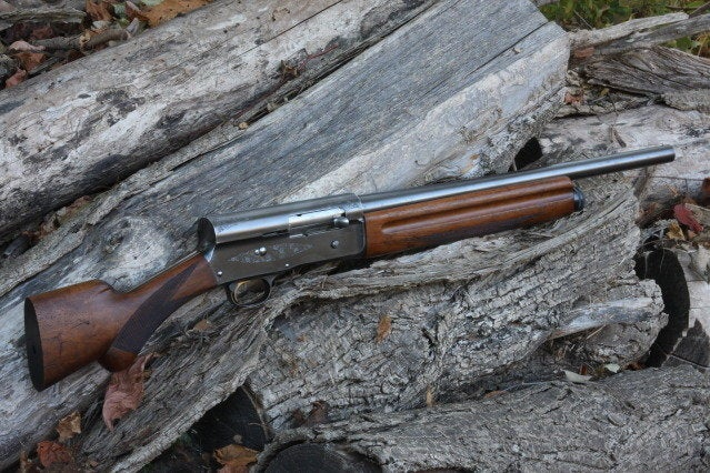 A cut down A5 mimicking a configuration preferred by outlaw Clyde Barrow.