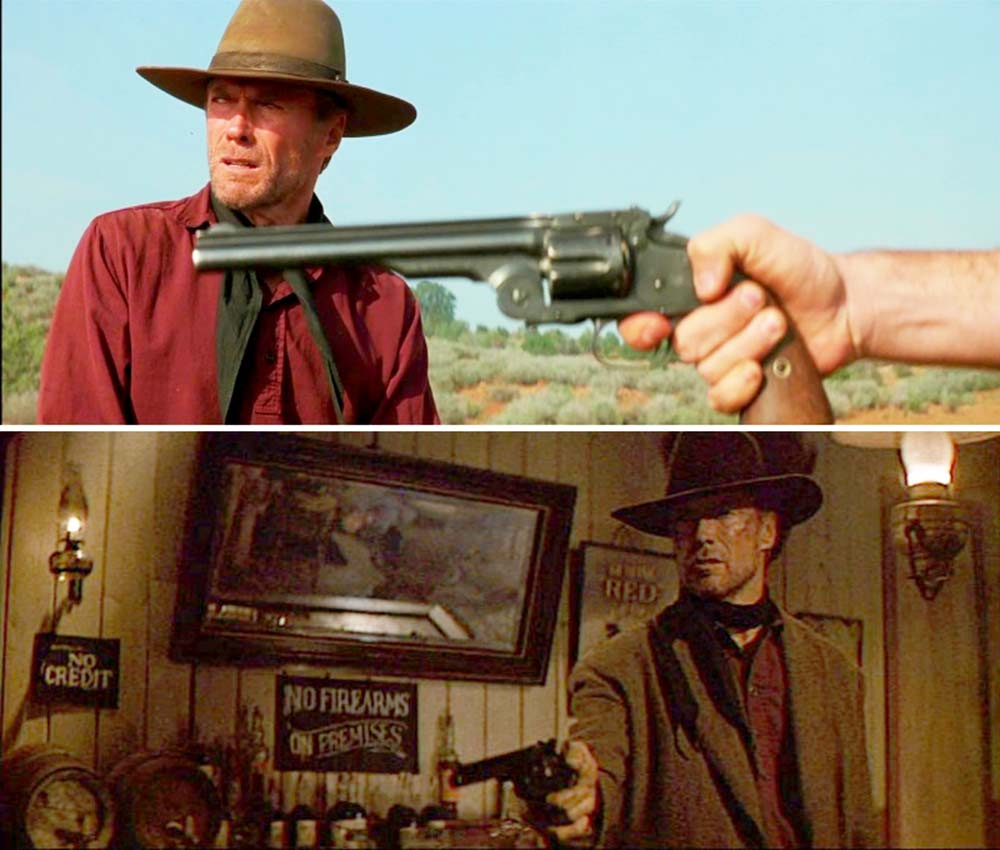 clint eastwood unforgiven Smith & Wesson Schofield Model 3