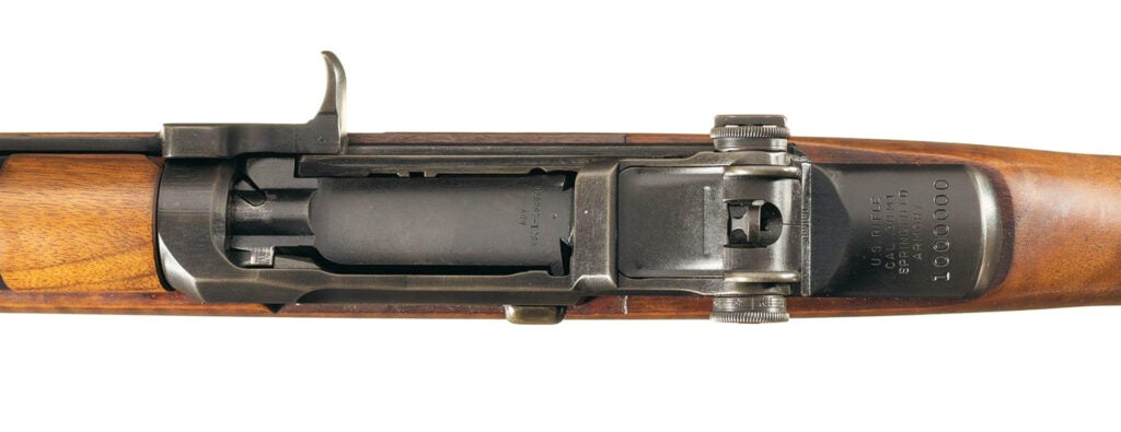 The historic firearm has the serial number of 1,000,000.