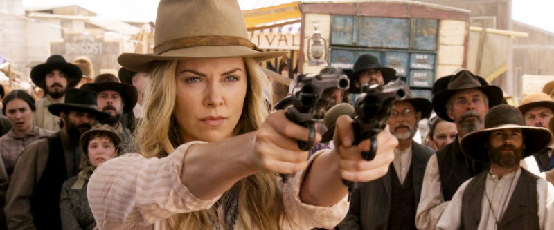 Theron with two Webley .455 Mk VI pistols in the