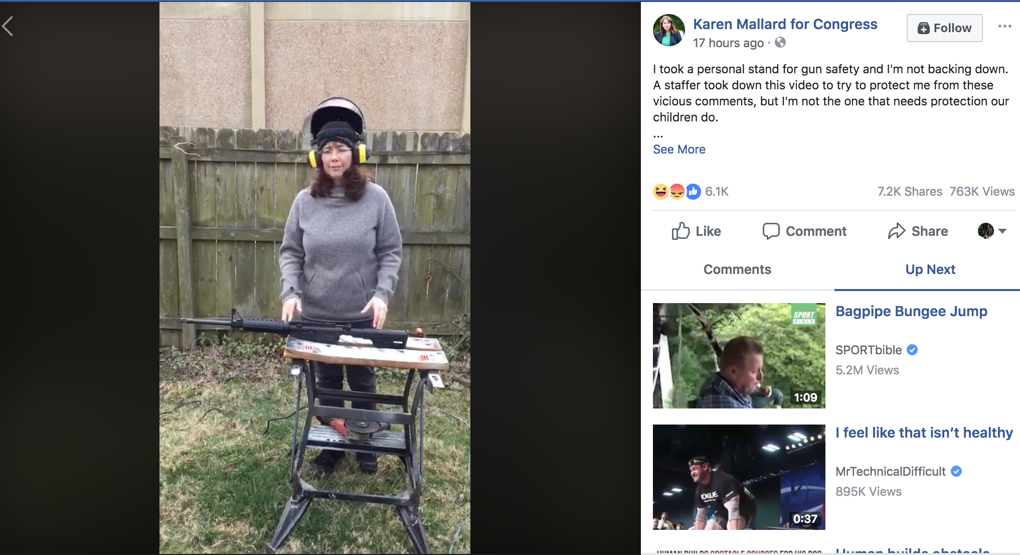 Virginia Candidate Cuts Up AR on Camera, Accused of Committing Felony