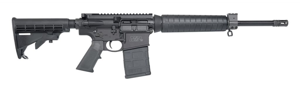 A profile shot of the new M&P10 Sport Rifle from Smith & Wesson.