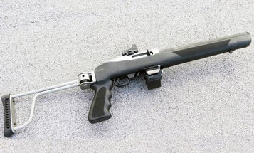 Full Auto Friday: Integrally Suppressed Ruger 10/22