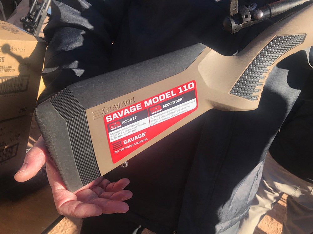 Savage Arms AccuFit Model 110