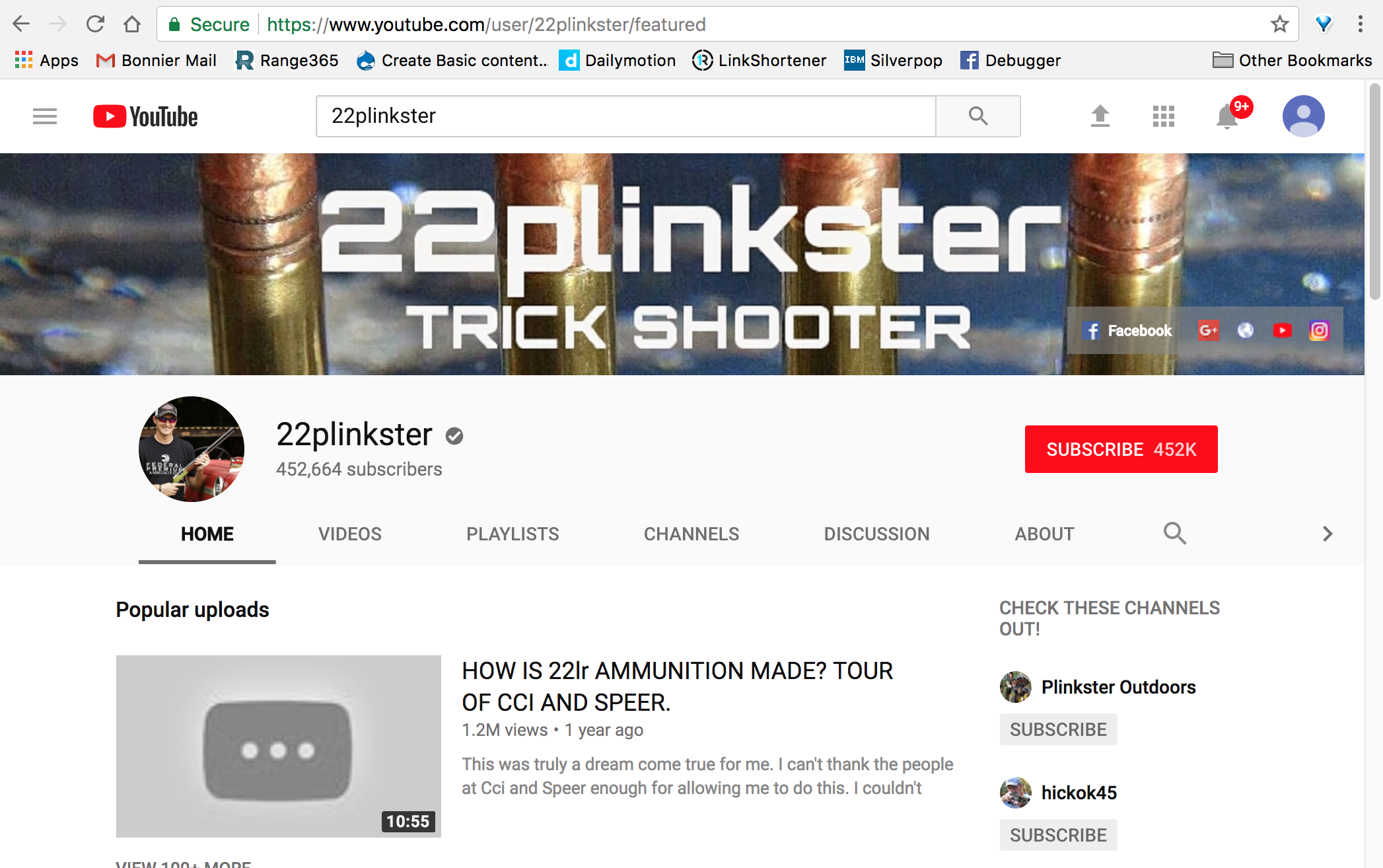 22plinkster Pulls All Vids from YouTube