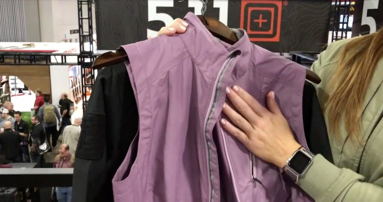 5.11 tactical women's conceal carry clothing shot show 2018