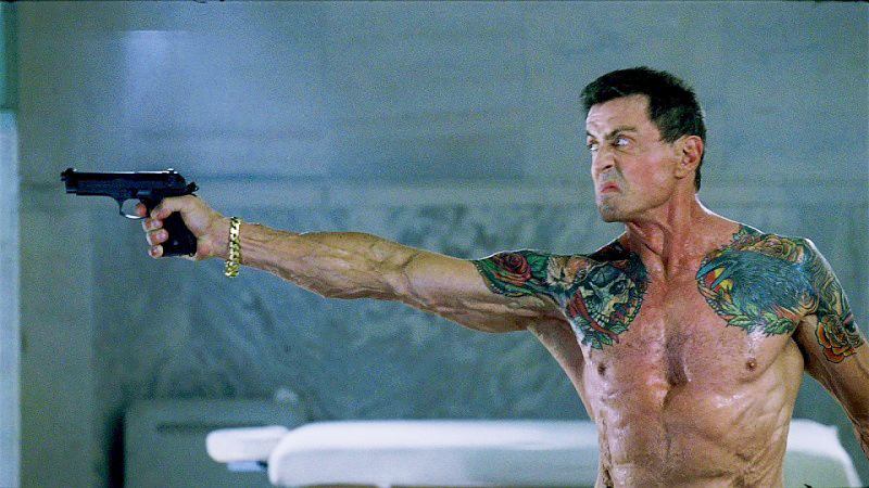 Jimmy kills his target with a Beretta 92FS in the bath house after he finds his pistol has been sabotaged.