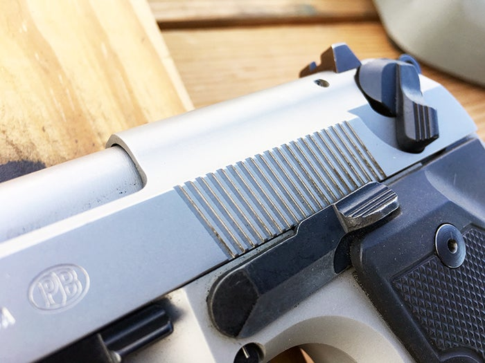 How to Operate a Beretta Safety