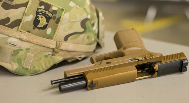 Problems Arise With The Army's New Handgun