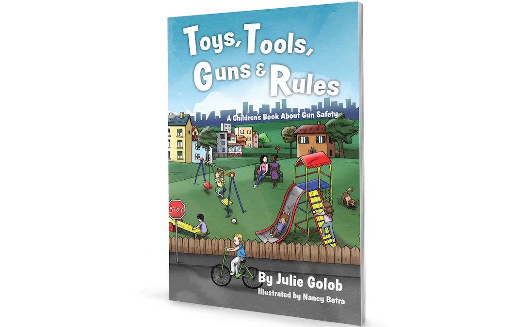 A new children's book from Julie Golob teaches kids about gun safety, and provides instructions for parents as well.