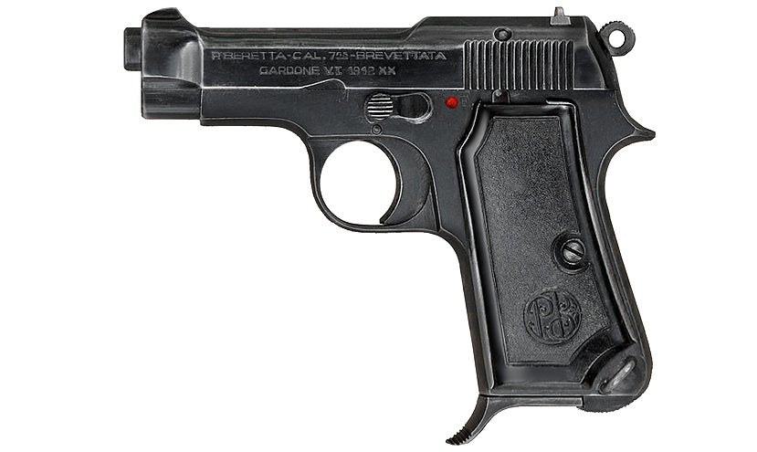 At the beginning of the movie, Bond carries a Beretta M1934 in 9mm Short, a nod to the Ian Fleming book in which Bond carried a Beretta 418 in .25 ACP before switching to the Walther PPK.