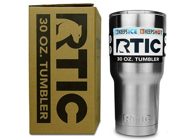 The RTIC 30 oz. Tumbler is a great way to keep the coffee going at the range.