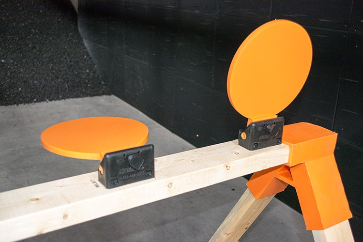 These NewBold plates and their mounting hardware are made of self-healing polymer.