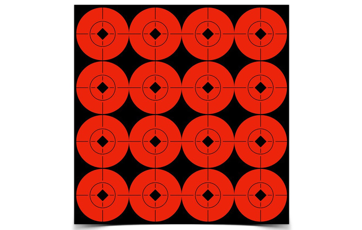 Birchwood Casey Target Spots offer great contrast on any kind of target.