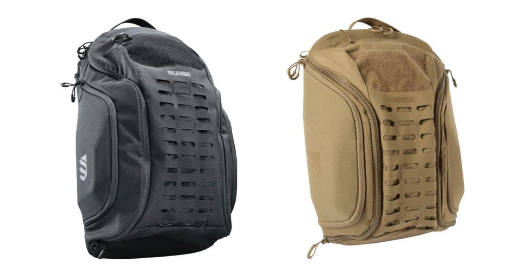 The pack also comes in all black and coyote.