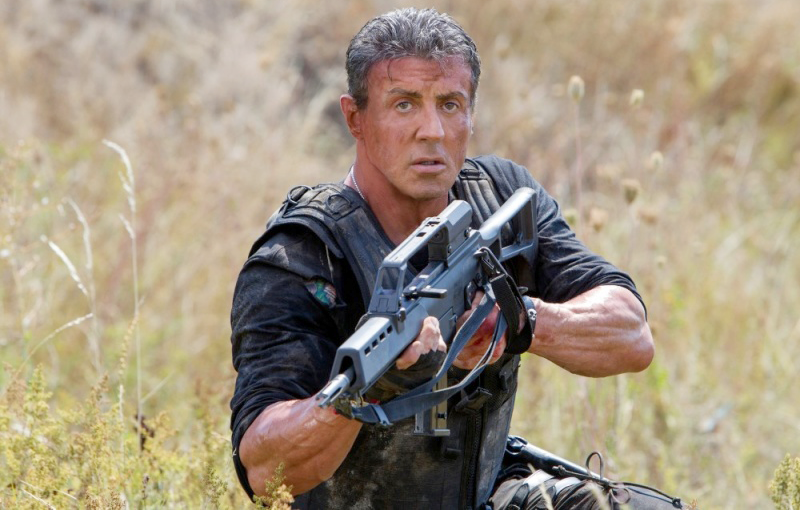 Movie Guns of Sylvester Stallone 2010—Present