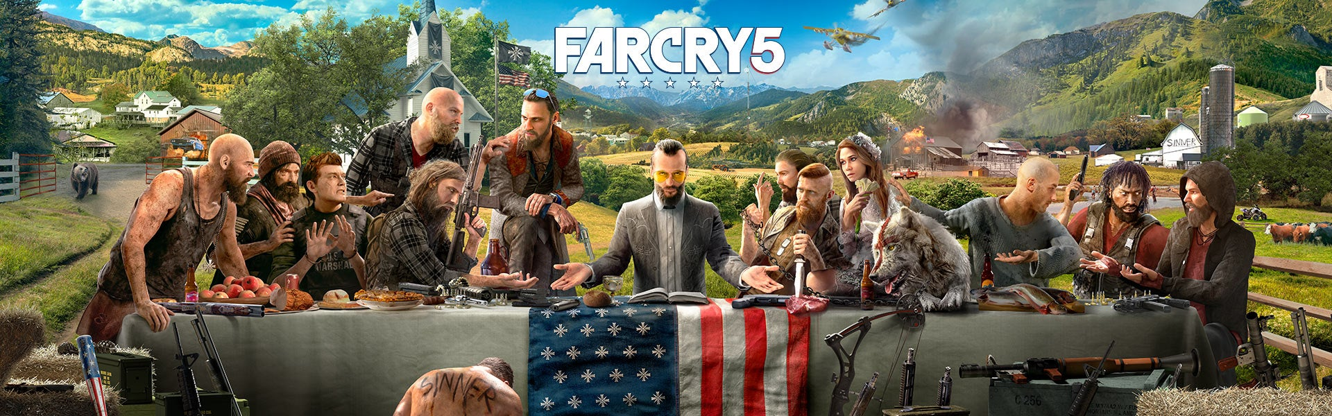 Far Cry 5 will be release on March 27.