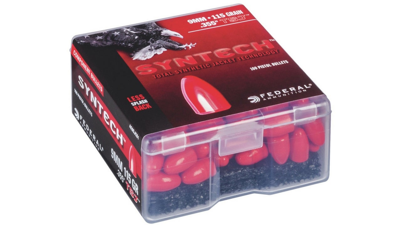 Federal Releases Syntech Bullets for Reloaders