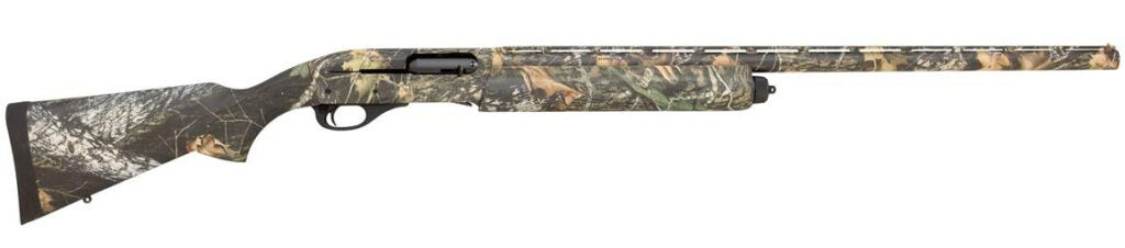 The Remington 11-87 Sportsman Youth Camo shotgun.