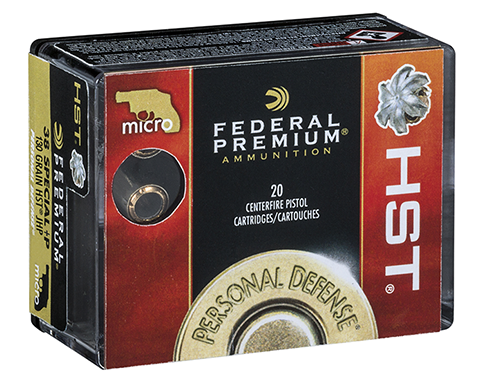 Federal .38 Special +P HST Micro Self-Defense Ammo: Coming to the Range