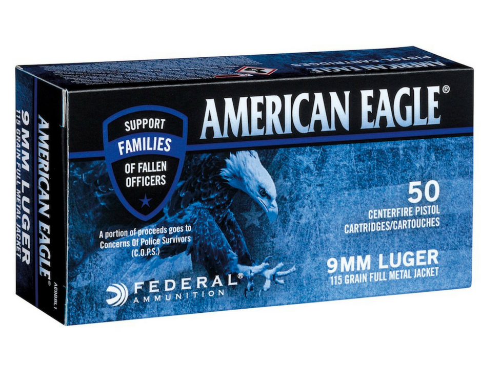 New Federal Ammo Benefits Families of Fallen Officers