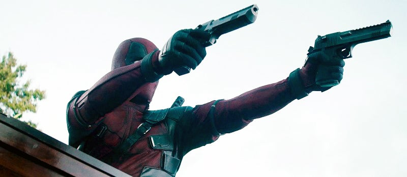 Deadpool is back with his twin Desert Eagle Mark XIX pistols in .50 AE