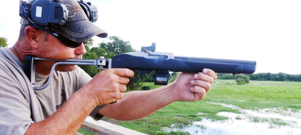 VIDEO: Integrally Suppressed, Full Auto Ruger 10/22