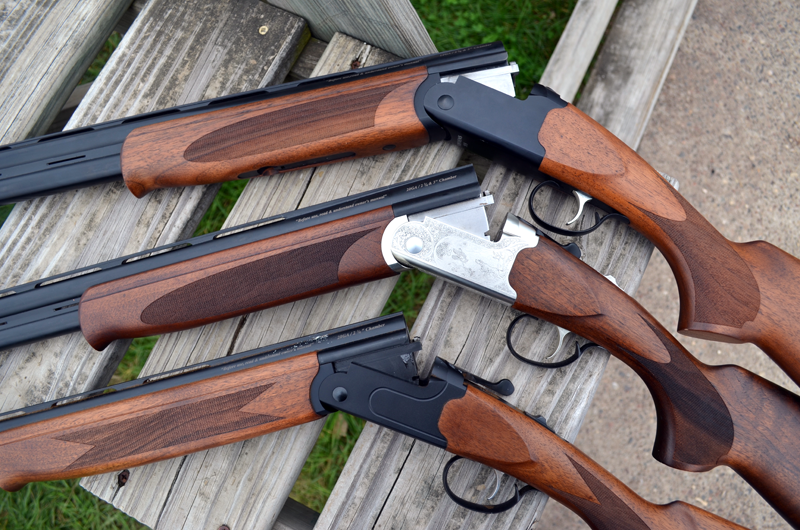 The Stevens 555 over/under comes in 28-, 20-, and 12-gauge.