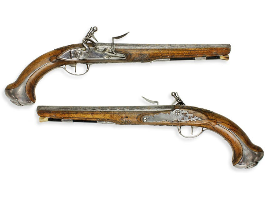 History of the $2M Washington/Lafayette Pistols