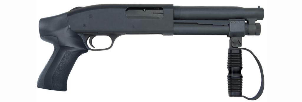 The Mossberg 500 Compact Cruiser