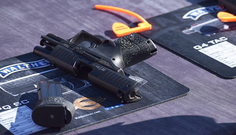 The new Walther PPQ SC 9mm pistol.