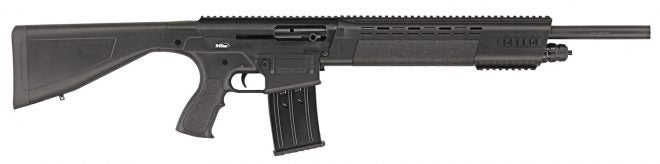 The TriStar KRX Tactical shotgun.