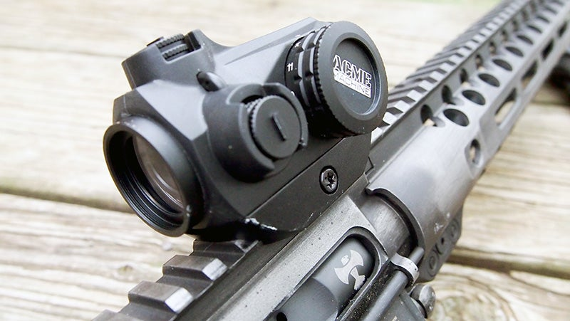Acme 1x20 HD-41 Red Dot is a great optic for the price.