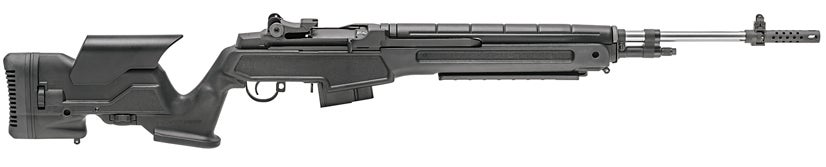 The M1A in 6.5 Creedmoor with Black Precision Stock.