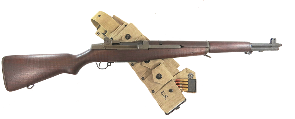 The semi-auto M1 Garand replaced the Springfield '03 but was also chambered for the .30-06 Springfield.