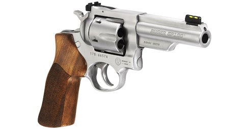 The new Ruger GP100 Match Champion 10mm is tweaked with the competitor in mind.