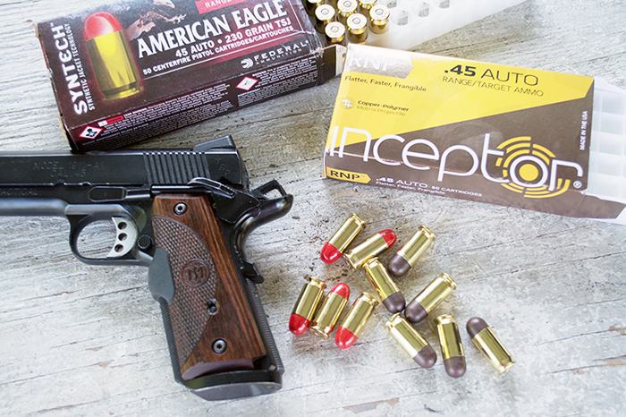 While with proper steel targets, you can use regular jacketed ammo, these two types are even better as both are designed to generate less fragmentation.