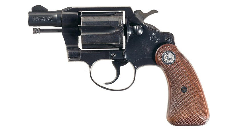 A Colt Detective Special .38 Special revolver was introduced in 1927.